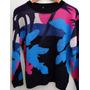Sweater Diseño Abstracto Importado Nuevo