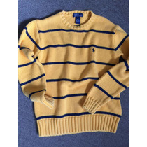 Sweater Polo Ralph Lauren M De Hombre Algodón 100% Usado.