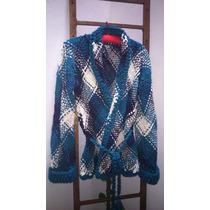 Sacos Tejidos Lana Merino Sedificada Telar Crochet