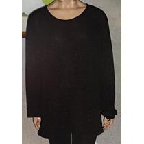 Sweater Remeron Tejido Lurex Gorditas Largo Talle Grande