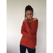 Sweater Blusa Manga Larga Cuello Redondo Indira