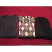 Lote De 3 Sweater Pullover Gap De Eeuu