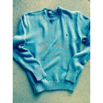 Sweater Polo Ralph Lauren M De Hombre All Cotton Hand Made