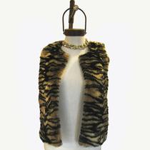 Chaleco Pelo Animal Moda Mujer Ropa Invierno 2015