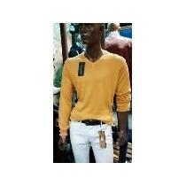 Sweater Hombre Hilo Con Lycra Escote En V Liquidoo