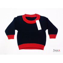 Sweater Tejido Bebe. Pulover Tejido Bebe