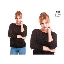 Sweater Punto Ingles C/lurex - Danilan