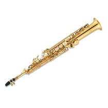 Saxo Soprano Knight Jbsst400 Bb Llave F# Laqueado C/ Estuche