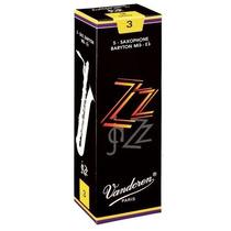 Caja De 5 Cañas Para Saxo Barítono Vandoren Zz (jazz)