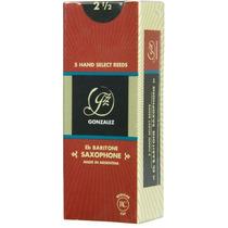 Cañas Para Saxo Baritono 3.0 Gonzalez Modelo R.c. X5