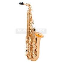 Saxo Alto Selmer Prelude As710 Dir Dorado Con Estuche
