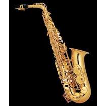 Knight Jbas-200 Saxo Alto, Eb, Yellow Brass