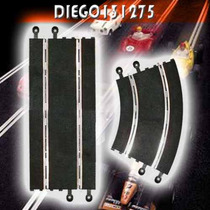 Scalextric Tramos Para Pista (comp) Pista De Autos Esc. 1/32