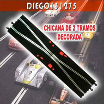 Scalextric Chicana De 2 Tramos (comp.) Pista De Autos 1/32