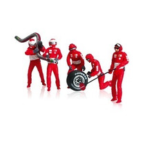 Ferrari Set Of Figures Mechanic 1/32 Marca Carrera