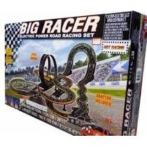 (d_t) Pista De Autos Electrica 12 Vol Big Racer