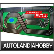 Pista Autos Scalextric 4 Vias 24m Recorrido Scx Ninco Sk!!!