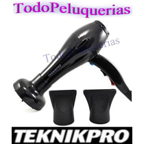 Secador Profesional Teknikpro 5000 * El Mas Potente 2200 Wat
