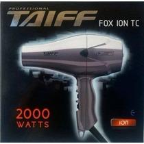 Secador De Pelo Profesional Taiff Fox Ion 2000 Watts