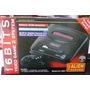 Sega Mega Drive 2 Con 5 Juegos Incorporados - Para Led Y Lcd
