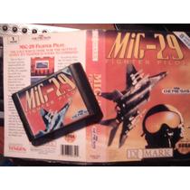 Juego De Sega - Mig 29 - Con Lamina -