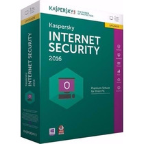 Kaspersky Antivirus Internet Security 2016 Licencia 5pc 1año