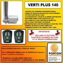 Kit Automatizaciòn Portones Levadizos. Despacho Gratis! Gtia