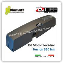 Kit Motor Porton Levadizo Torsion Life Italiano El Mejor