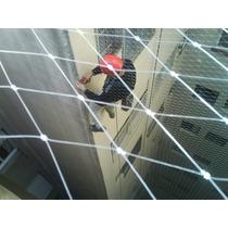 Red De Protección 0.8 Mm Transparente - Para Instaladores