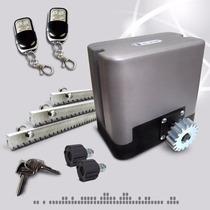 Kit Automatizacion De Porton Automatico Cremallera De Acero