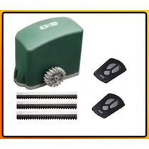 Kit Motor Porton Automatico Corredizo 500kg 2 Controles Gtia