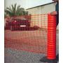 Malla De Seguridad Naranja Pesada, Red Plástica Oferta!!