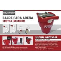 Balde De Arena Con Tapa P/ Incendio Estaciones De Servicio