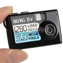 Micro Mini Camara Espia Oculta Microfono Grabador Fotos 5mp