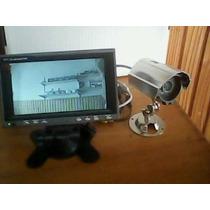 Camara Color Con Audio Y Vision Nocturna + Monitor Lcd 7