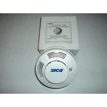 Detector De Humo Fotoelectrico A Baterias Marca Sica