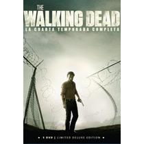 Pack Temporada 4 Walking Dead 5 Dvds En Digipack $349.90