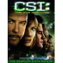 Dvd Csi Crime Scene Investigation Season 6 / Temporada 6