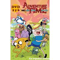 Dvd Hora De Aventura 8 Dvds Español Latino