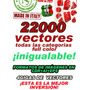 22000 Vectores Full Color ¡inigualable!