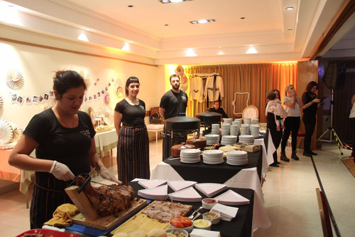 Servicio Catering Pizza Party,barra De Tragos Libre,pernil
