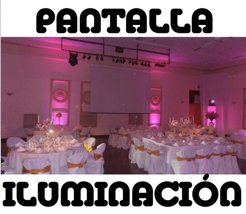 Servicio Disc Jockey Economico Sonid Iluminación Pantalla Dj
