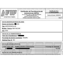 Formulario Ceta Afip Transferencia Automor Sin Clave Fiscal