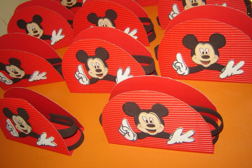 Servilleteros Mickey Mouse Jake Y Los Piratas Princesas - $ 7,70 ...