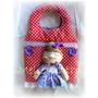 Muñecos Country-soft Bolsa Algodonera Día De La Madre