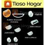 Accesorios Para Baño Set 8 Piezas C Toallero Barral Ceramica