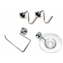Set Kit Accesorios Para Baño Acero Inoxidable Oferta