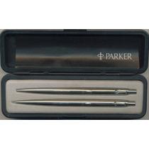 Birome Y Lápiz Mecánico Parker De Colección