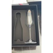 Liquido Caja Regalo Con Copa Champagne Caja Negra