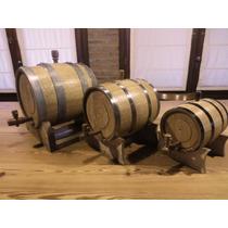 Barriles Toneles Barricas Chopp P/vinos De Roble 2lt A 225lt